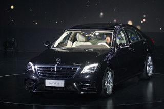 奔驰新一代S级正式上市 售价93.8万起