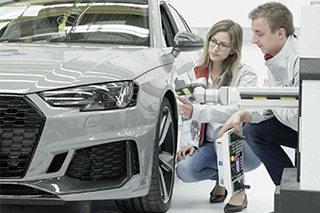 走访德国工业城市 体验奥迪品质科技日