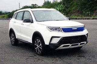 野马全新纯电动SUV实车曝光 于明年上市