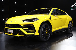 兰博基尼超级SUV在华首次亮相 售价313万元