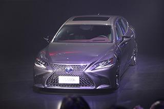 雷克萨斯旗舰轿车LS上市 售88.8万元起