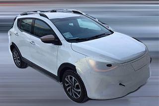 江淮大众SUV基于IEV6S打造 悬挂全新LOGO