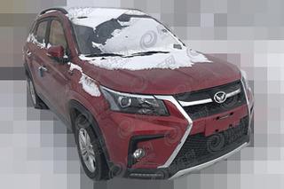 北汽幻速S5新车型谍照 换装6速手动变速箱