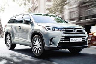 丰田新款汉兰达今日上市 增多项安全配置