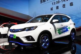 东南DX3 EV正式上市 售价18.29-19.29万元