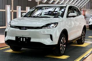 威马EX5首台试装车正式下线 有望三季度上市