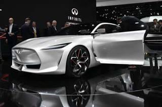 英菲尼迪北京车展阵容 含新QX50/旗舰概念车