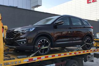 网通社北京车展探馆:森雅全新紧凑级SUV R9