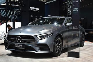 全新奔驰CLS四门轿跑正式上市 售价80.88万元起