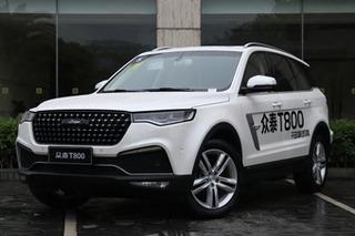 """众泰T800将推""""入门版""""车型 搭2.0T低功率引擎"""