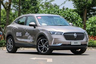 试驾轿跑SUV宝沃BX6 2.0T