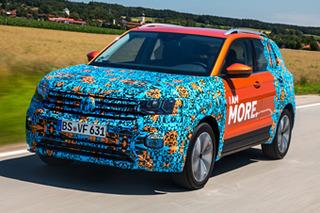 独家!首试大众T-Cross原型车 未来将国产的小SUV