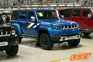 增专属设计 北京BJ40 PLUS环塔冠军版今日上市