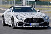 AMG GT R敞篷版谍照曝光 预计明年正式亮相