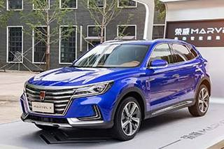 代表品牌形象 荣威MARVEL X抢夺入门豪华车市场