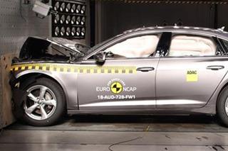 奥迪全新一代A6碰撞成绩出炉 乘员正面防护良好