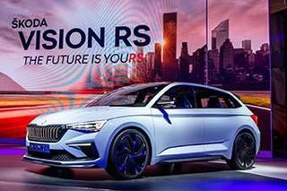 斯柯达VISION RS概念车发布亮相 搭混合动力系统