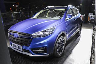 天津一汽骏派D80正式上市 售价7.99-12.59万元