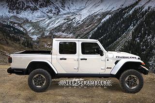 基于牧马人打造 全新Jeep皮卡将洛杉矶车展亮相