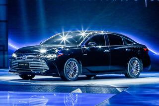 一汽丰田AVALON亮相 定名为亚洲龙/正式开启预售