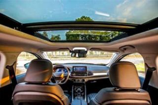 EXEED星途首款车型内饰曝光 新车明年初正式上市
