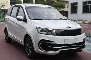 开瑞全新电动SUV首次曝光 颜值