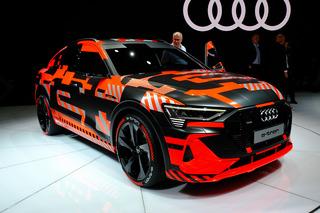 诠释未来 日内瓦车展实拍奥迪e-tron Sportback