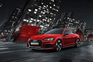 百公里加速3.9秒 全新奥迪RS5 Coupe售86.98万