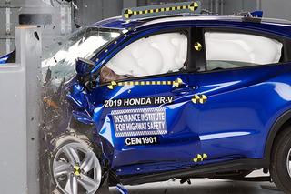 2019款本田HR-V碰撞测试解析 乘员保护充分
