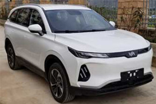威马第二款纯电动SUV实车曝光 将于9月正式上市