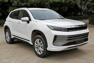 曝星途全新紧凑型SUV—-LX
