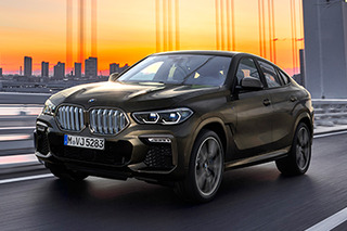 BMW unveils new X6