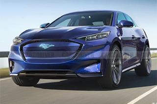 野马风格/续航482km 福特全新电动SUV或11月亮相