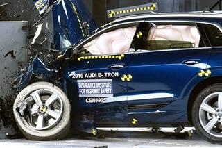 奧迪電動SUV e-tron碰撞成績出爐 乘員保護到位