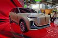 全尺寸SUV/L4级自动驾驶 红旗纯电SUV概念车首发