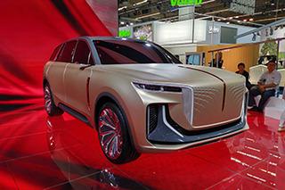 全尺寸SUV/L4除自动驾驶 先进纯电SUV概念车首发