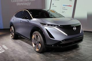 搭载双电机 日产Ariya纯电动跨界概念车亮相CES