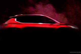 將于三季度推出 日產發布全新小型SUV預告圖