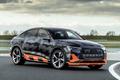 奥迪e-tron S Sportback 原型车官图发布
