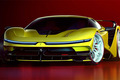 艺术家的美好想象 法拉利F42概念车假想图