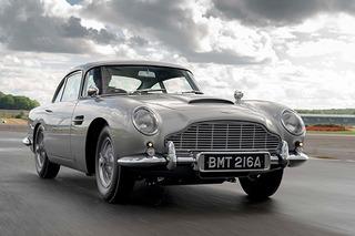 007座驾交付 阿斯顿·马丁DB5经典重置版问世