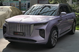 Hongqi electric SUV real car photos exposed